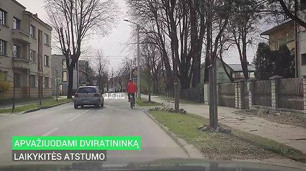 Dviratis gatvėje: svarbiausios taisyklės