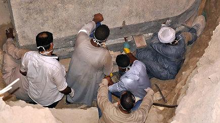 Sarkofagą atvėrusius archeologus nustebino nepakeliamas dvokas