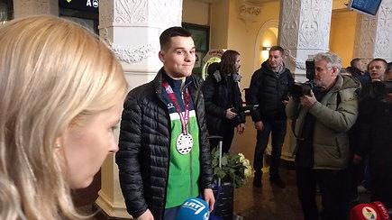 """Kristupas Šleiva: """"Negaliu patikėti, kad turiu Europos suaugusių čempionato medalį"""""""