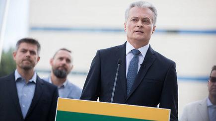 Gitanas Nausėda viešai paskelbė sprendimą dėl dalyvavimo prezidento rinkimuose