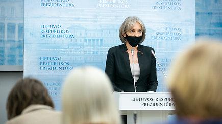 """G.Nausėdos patarėja A.Skaisgirytė: """"Lietuvos ilgalaikiai interesai santykiuose su Baltarusija mums labai svarbūs"""""""