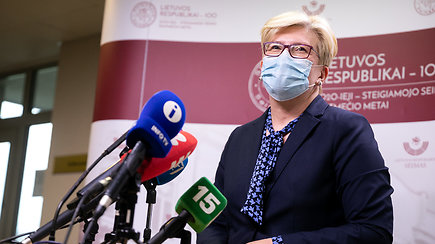 I.Šimonytė: nelabai žinau, kaip gyventi saugomai, dėl kraustynių į Turniškes klausys VAT
