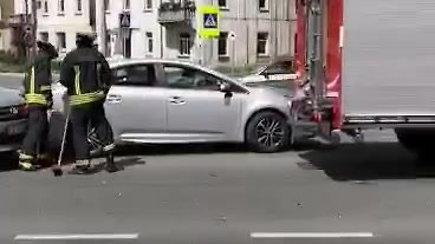 Kaune – masinė avarija: susidūrė 4 automobiliai