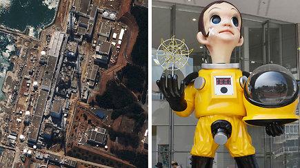 Kontraversiška vaiko skulptūra Fukušimos gyventojams primena atominės jėgainės tragediją
