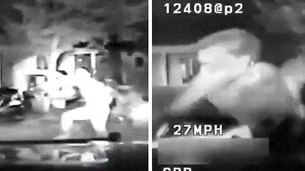 Kalifornijos pareigūnai partrenkė dviračiu nuo jų sprukusį paauglį