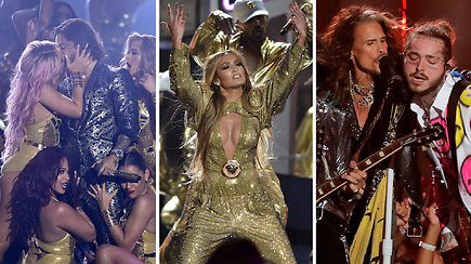 Įspūdinguose MTV apdovanojimuose Jennifer Lopez triumfo vakaras