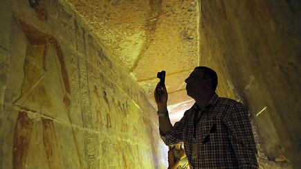 Egipte pirmą kartą lankytojams atvertas 4 tūkst. metų senumo kapas