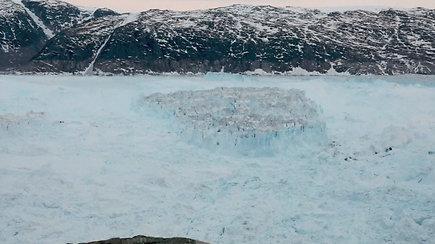 Nuo ledyno atskilęs Manhatano dydžio gabalas kelia nerimą mokslininkams