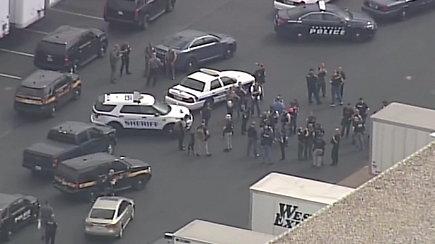 Naujos šaudynės JAV: Merilande žuvo trys žmonės, šaulė sulaikyta
