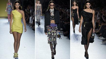 """Žavi, moteriška ir spalvinga """"Versace"""" kolekcija"""
