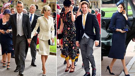 Į princesės Eugenie vestuves rinkosi karališka grietinėlė ir draugai iš šou pasaulio