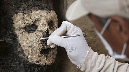 """Peru atkasti daugiau nei 800 m. senumo mediniai stabai – tai seniausias """"saulės"""" miesto radinys"""