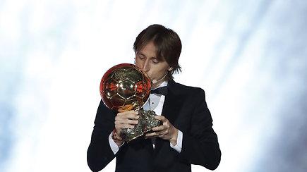 L.Messi ir C.Ronaldo dominavimas baigėsi: geriausias metų futbolininkas – L.Modričius
