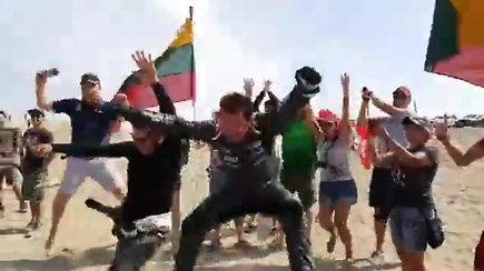 Audringai finišavęs Antanas Juknevičius: šis Dakaras buvo vienas sunkiausių per dešimt metų