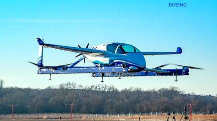 Į orą pakilo pirmasis autonominis skraidantis taksi