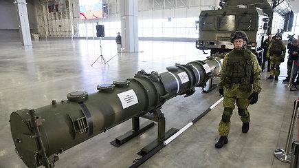 Rusija pademonstravo raketų sistemą, galimai pažeidžiančią svarbią ginkluotės sutartį