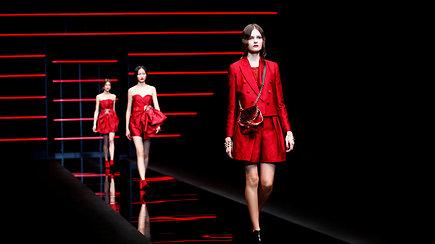 Naujoji Emporio Armani kolekcija – drabužių galimybių repertuaras