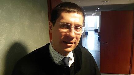 A.Kadziausko advokatas Martynas Žilinskas: nėra pagrindų kardomajai priemonei