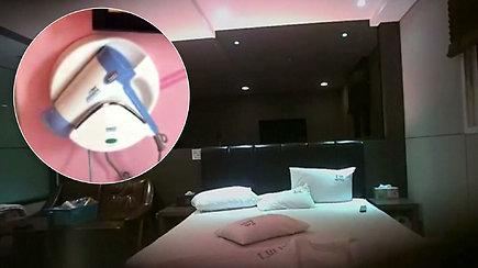 Baisiausias košmaras: apie 1600 svečių moteliuose buvo slaptai filmuojami ir tiesiogiai transliuojami internete