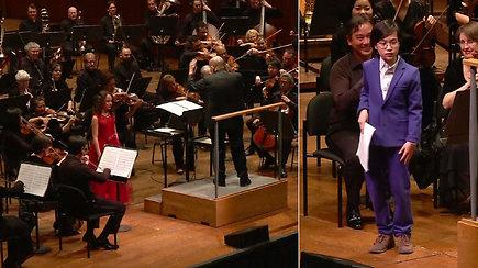 Du talentu apdovanoti vienuolikmečiai: jų kūrinius atliko vienas garsiausių pasaulio orkestrų