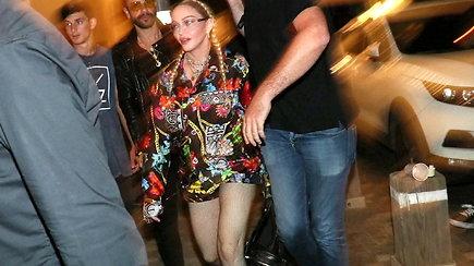 """Nepaisant raginimų boikotuoti renginį, Madonna atvyko į """"Euroviziją"""""""