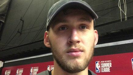 """Galingai startavęs """"Žalgirio"""" naujokas: """"Jei NBA – bus gerai, jei """"Žalgiris"""" – dar geriau"""""""