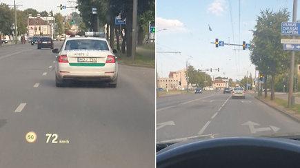 Policininkų elgesys Kaune papiktino skaitytoją