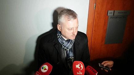Advokatas A.Blaževičius komentavo jo ginamojo policininko D.Karaluko suėmimą