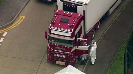 Tragiškas incidentas: Jungtinėje Karalystėje sunkvežimyje rasti 39 lavonai