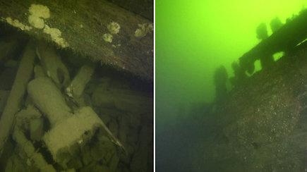 Baltijos jūroje – netikėtas archeologų radinys: rastos nuskendusių XVII a. karinių burlaivių liekanos