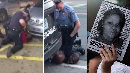 """Įvykiai, tapę stimulu """"Black Lives Matter"""" judėjimui: garsiai nuskambėję smurto prieš juodaoždius atvejai"""