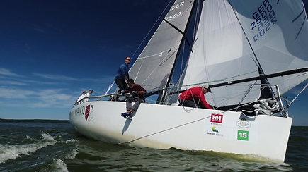 """Kokias paslaptis slepia šių metų absoliučiai greičiausios jachtos titulą iškovojusi vokiečių jachta """"Maiko""""?"""