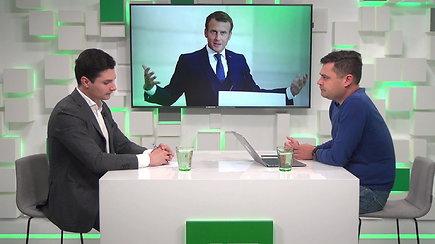 15/15: Prancūzijos prezidento vizitas Lietuvoje: ar G.Nausėda pademonstruos lyderystę?