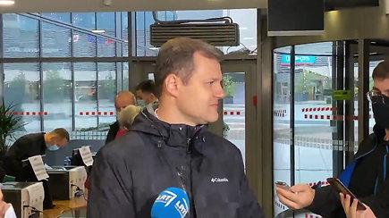 G.Paluckas atidavė balsą už dešiniųjų kandidatą, bet patikino, kad į koaliciją su jais neis