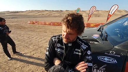 """Benediktas Vanagas finišavo dešimtuke: """"Reikėjo važiuoti labai vyriškai"""""""