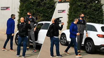 Pau Gasolis atvyko susitikti su komanda – pasveikino Šarą su gimtadieniu