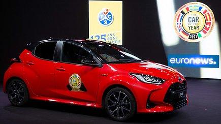 """Ženevoje paskelbtas """"Metų automobilis 2021"""": nugalėtojas konkurentus aplenkė apčiuopiama persvara"""