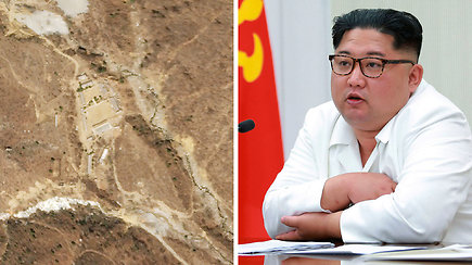 Užsienio žurnalistai išvyko į Šiaurės Korėją stebėti branduolinių bandymų poligono likvidavimo