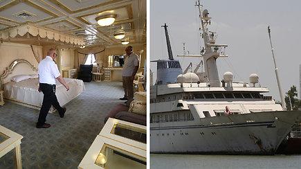 Buvusio Irako diktatoriaus Sadamo Husseino superjachta tapo viešbučiu jūreiviams