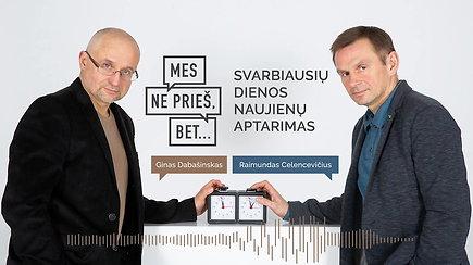 """""""Mes ne prieš, bet..."""": Dalia Grybauskaitė agituoja ne už, o prieš"""