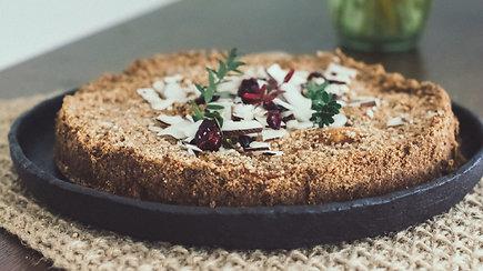 Rudens karalius: sveikas ir aromatingas obuolių pyragas
