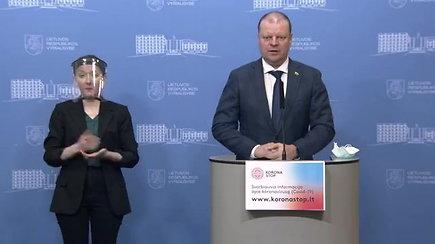 Vyriausybė priėmė sprendimus – uždaro Nemenčinę, bet švelnina karantino sąlygas