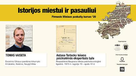 """Tomas Vaiseta """"Sovietinio Vilniaus pamišimo trikampis: Antakalnis, Kairėnai, Naujoji Vilnia"""""""
