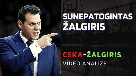 Kaip CSKA sunepatogino Žalgirį ir ko trūko iki tobulų rungtynių?