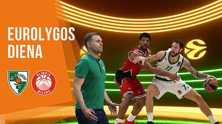 """""""Eurolygos diena"""": atsigavę """"Žalgirio"""" bokštai ir krepšinio scenoje suspindęs Milanas"""