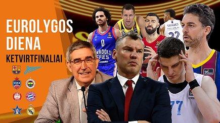 """""""Eurolygos diena"""": naujos komandos, bręstanti revoliucija ir ketvirtfinalio prognozės"""