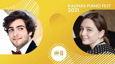 Kaunas piano fest 2021   Alexandre Madjar ir Mariia Kurhuzova