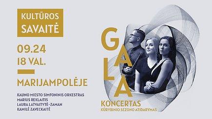 Marijampolės Kultūros savaitės baigiamasis GALA koncertas