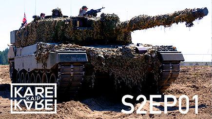 Kai karys už artilerijos pabūklus įtakingesnis: kovos mašinos Lietuvoje ir tankistės norvegės