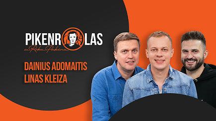 """PIKENROLAS: L.Kleiza ir D.Adomaitis – """"Žalgirio"""" potencialas, E.Mudiay ateitis ir testas """"Rytui"""""""